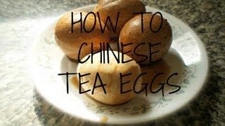 How To Make Chinese Tea Eggs
