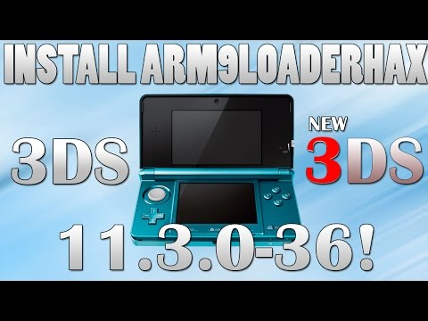 INSTALL CFW (A9LH) ON 3DS VERSION 9.2 TO 11.3
