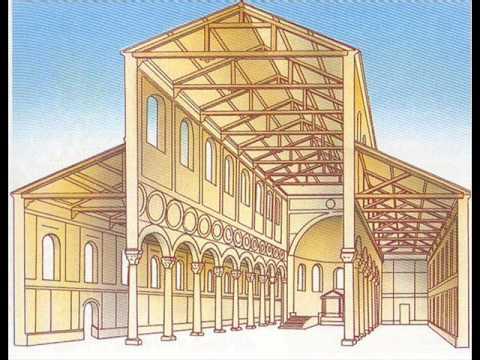 arquitectura paleocristiana youtube