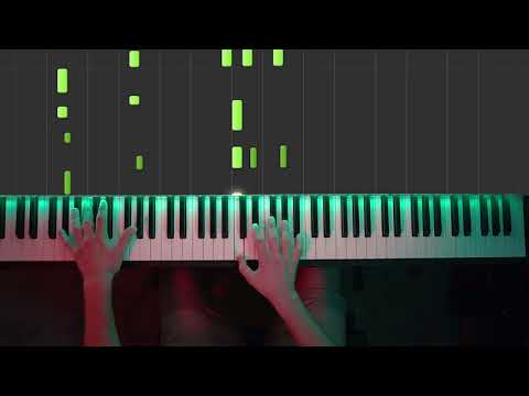 For The Damaged Coda  Rick & Evil Morty Piano  Intermediate