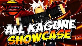 *NEW KAGUNE* All Kagune Showcase Anime Fighting Simulator