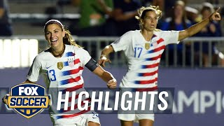 90 in 90: Trinidad and Tobago vs. United States | 2018 CONCACAF Women's Championship