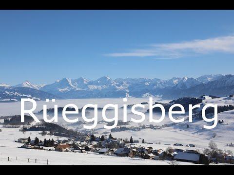 Winter in Rüeggisberg, Bern, Switzerland