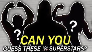 Can You Guess Who These WWE Superstars/Wrestlers Are?