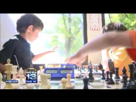 KRQE coverage of Learners' Moore Chess Camp