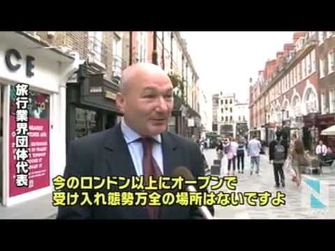 Interview with Tom Jenkins for Tokyo Broadcasting System London Bureau