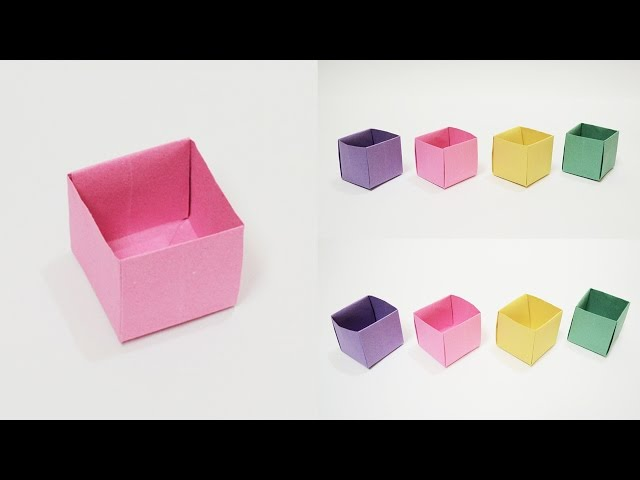 simple box, how to fold a box, origami box instructions, box ... | 480x640