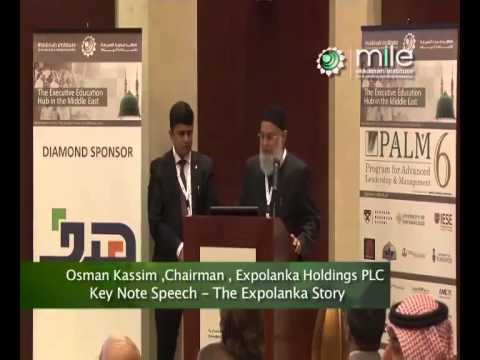 Success Story of  Expolanka Holdings PLC by Mr. Osman Kassim