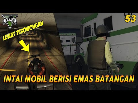 """MISI """"OBJECTIVE"""" TERSULIT GTA V   MISI GTA 5 (53) SURVEYING THE SCORE 100% COMPLETION GOLD MEDAL"""