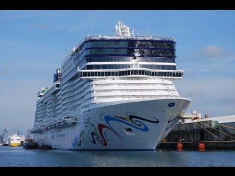 Norwegian Epic, Cruise Ship Tour