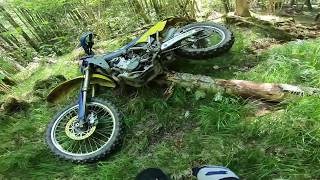 Husqvarna Crash Test + Engine Burnout - EP02