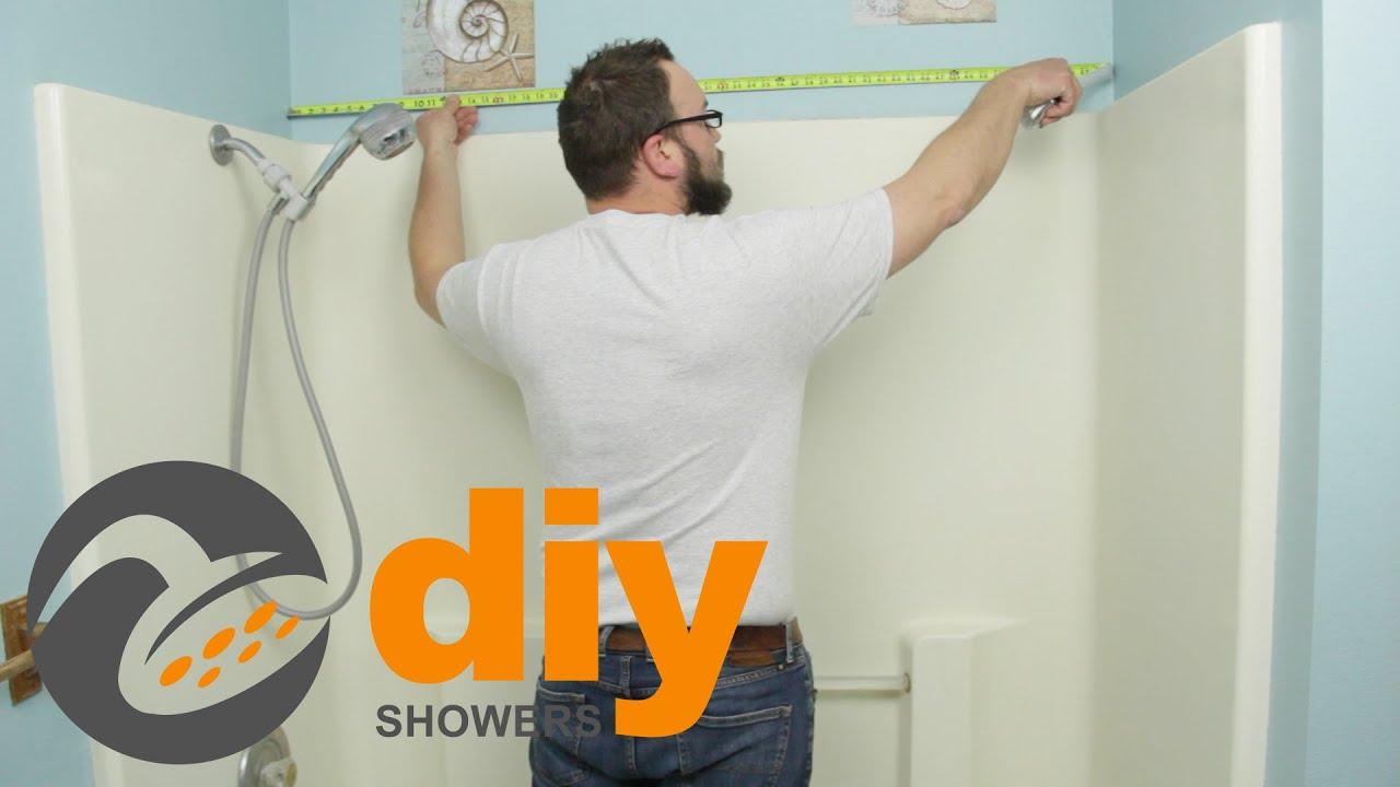 Tub to Shower Remodel: How to Measure for Your Onyx Shower Kit - YouTube