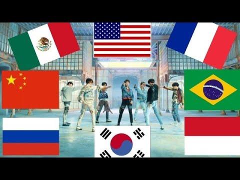 BTS - FAKE LOVE EN 8 IDIOMAS