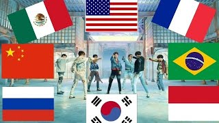 BTS - FAKE LOVE EN 8 IDIOMAS