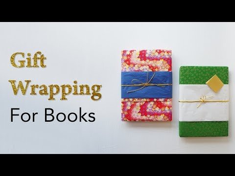 Fast & Easy - How to gift wrap a book