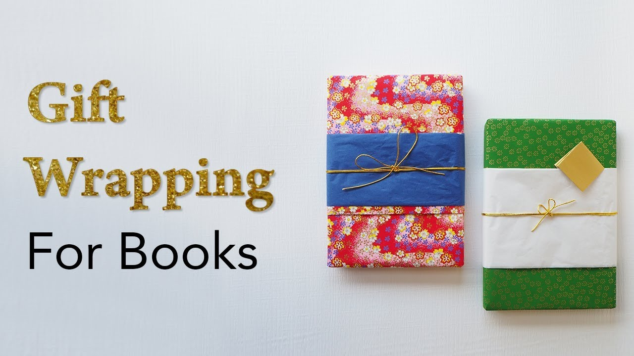 Fast Easy How To Gift Wrap A Book