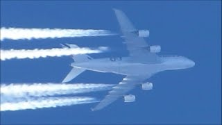 Chemtrail/SRM Aircraft..levitating-nano-particles Geoengineering. Alan Watt.