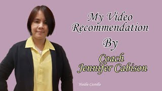Video recommendation by Coach Jennifer Cabison