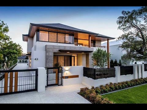 Top 50 modern house designs modern house designs 2016 for Modern estate home plans