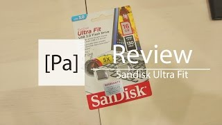 Sandisk Ultra Fit Review! w Speed Test!
