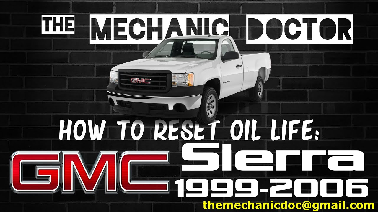 How To Reset Oil Life Gmc Sierra 1999 2006 4 Steps Instructables