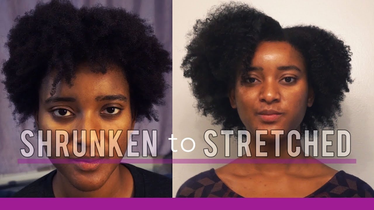 How I Stretch My 4c Natural Hair After Wash Day Braid Out