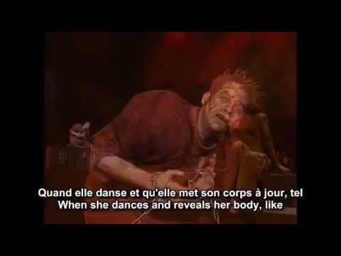 lyrics belle notre dame de paris french