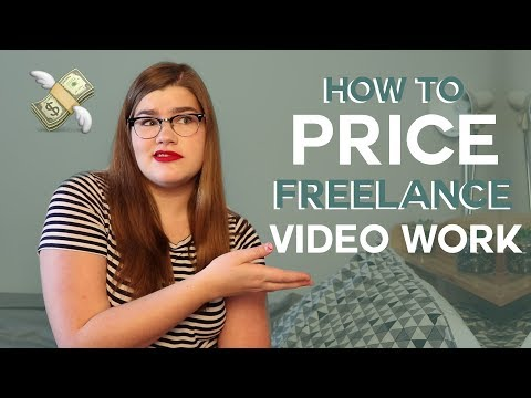 How to price your freelance videography work | Charging clients for creative work