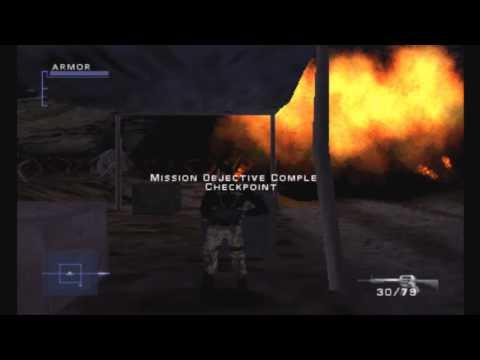 "Syphon Filter 3: (HD) Walkthrough Mission 11 ""Kabul, Afghanistan: Army Ranger Munitions Truck!"""