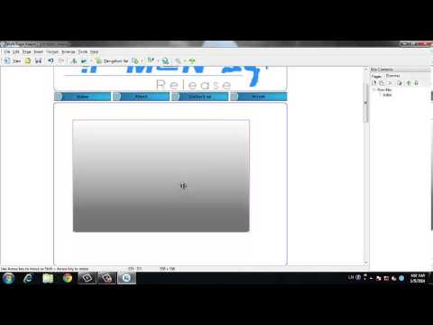 Web Page Maker Tutorial - Part 1 : How to make a simple webpage