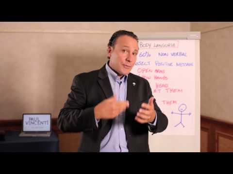 Body Language lessons for RE/MAX agents - Paul Vincenti - 2013