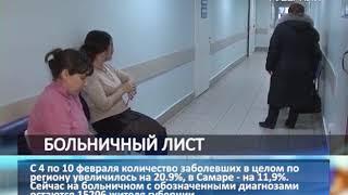В Самарской области превышен эпидемический порог по гриппу и ОРВИ