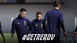 #GETREADY | Atletico-Juventus | Champions League | Day One in Madrid