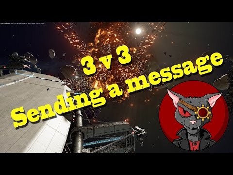 Fractured Space Gameplay - 3vs3 - It's About Sending A Message.