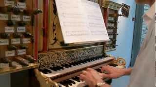 Pièce 2e ton N.LE BEGUE  Pierre ASTOR orgue baroque Franck BISTOCCHI musée Retournac Haute-Loire