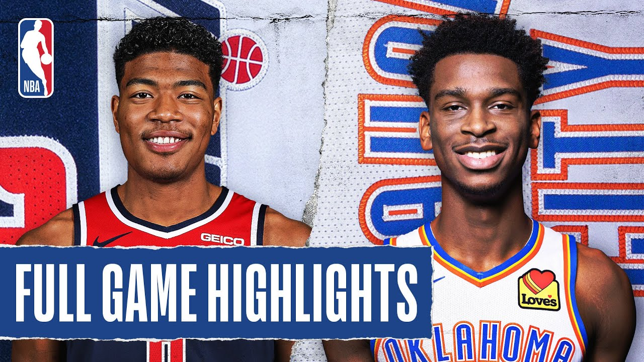 WIZARDS at THUNDER | FULL GAME HIGHLIGHTS | August 9, 2020