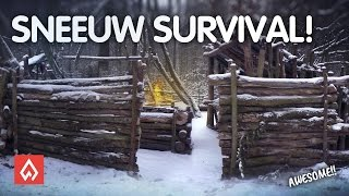 SUPER SHELTER SNEEUW SURVIVAL ! -- Dutch Outdoor Group
