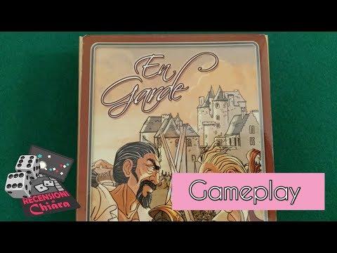 En Garde (gameplay con spiegazione) - Recensioni di Chiara (giochi da tavolo)