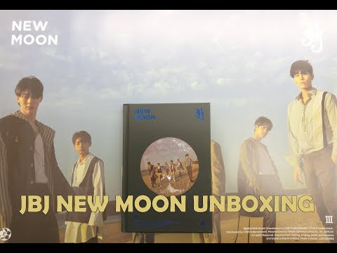 jbj-deluxe-edition-album《new-moon》unboxing