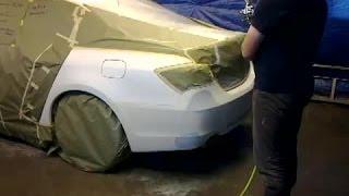 Покраска авто в белый жемчуг для канала  ОлегНестеровБрест