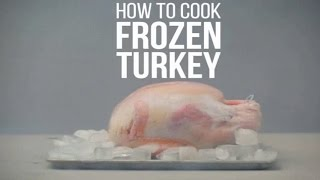 Cook Frozen Turkey perfectly | Cooking Frozen Turkey  for Thanksgiving | How To Cook a Frozen Turkey