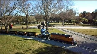 Largo Central Railroad Miniature Trains You Can Ride On