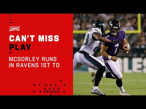 Trace McSorley Can't Be Denied on Ravens First TD