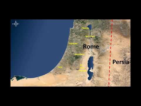 Virtual Tour Of Israel - Masada