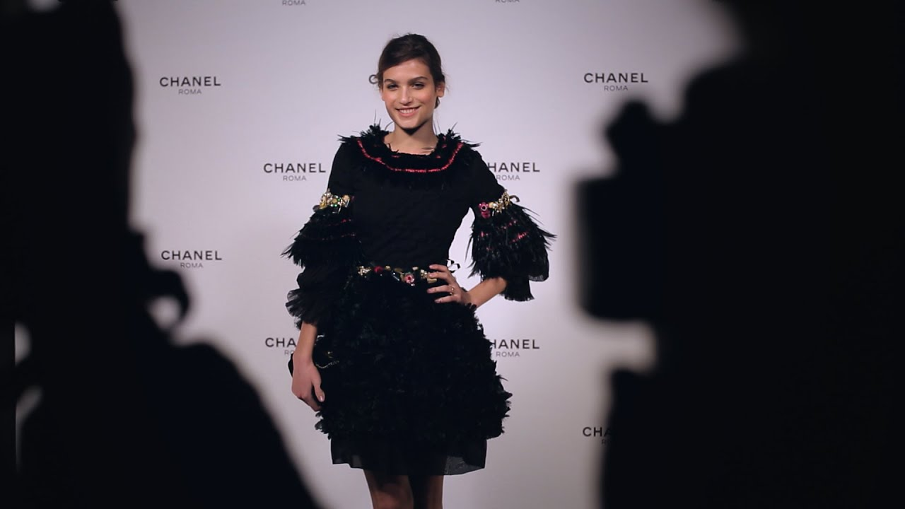 Opening Night of the new CHANEL Boutique in Rome, Italy
