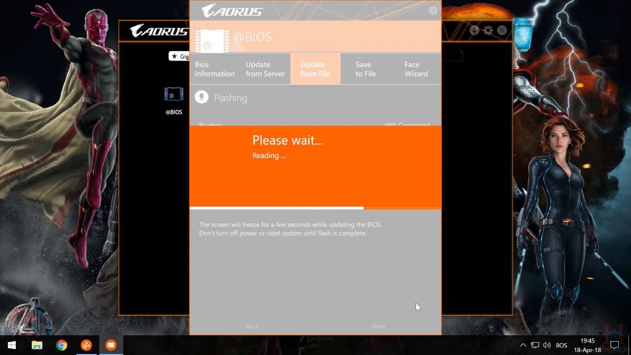 How to Update/Flash Gigabyte Aorus Z370 Ultra Gaming Bios F7h to F8