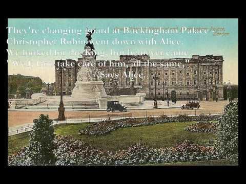 Buckingham Palace [A.A. Milne poem set to music]