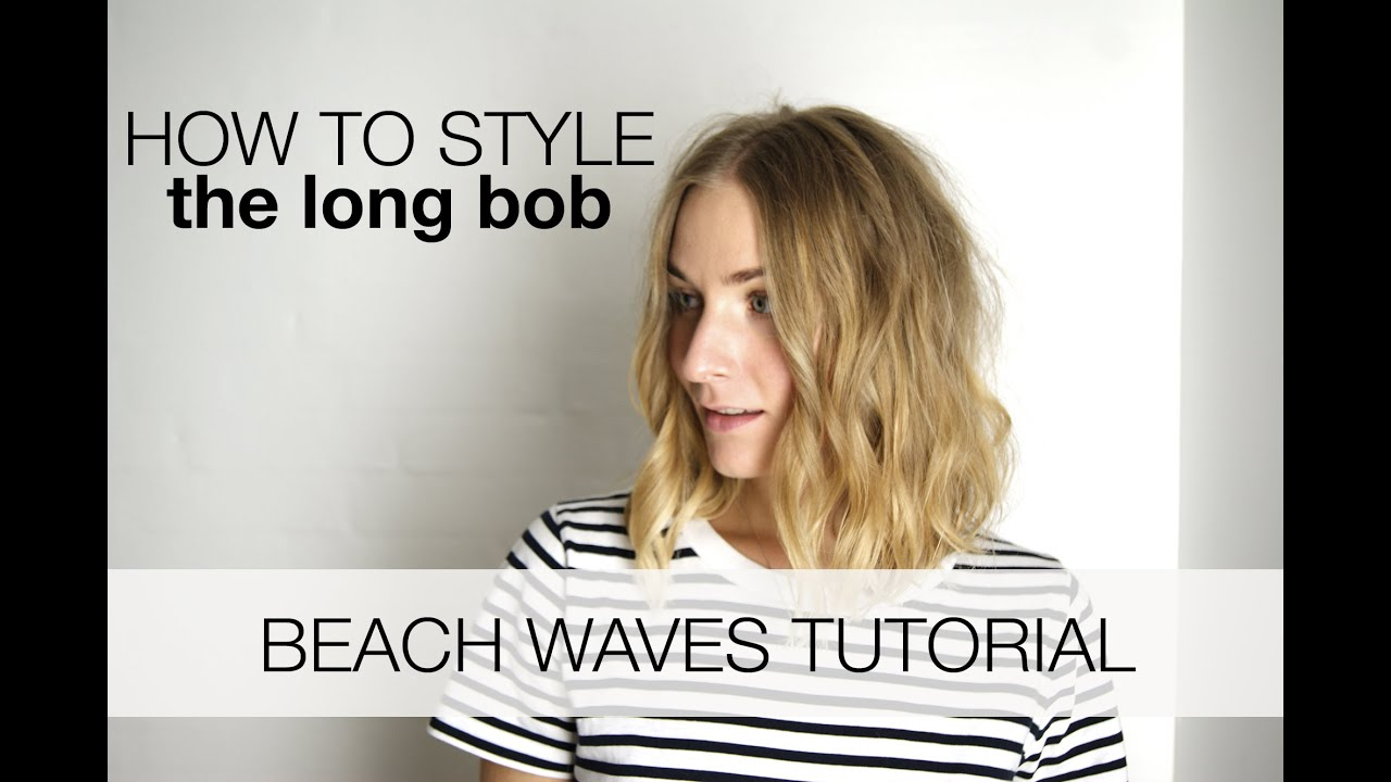 Beach Waves For The Long Bob Youtube