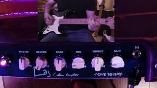 Laj T-Luxe Reverb Custom Amplifier Demo complete - By Jose Luis Miralles