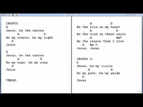 Free Jesus Be The Centre Chords Music Download Search Download